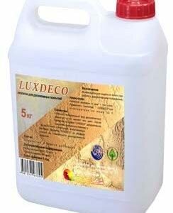 luxdeco пропитка лак для декоративной и венецианской штукатурки